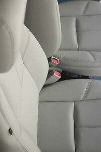 2011 2012 Suburban Tahoe Yukon Front Seats Titanium Gray Leather A95