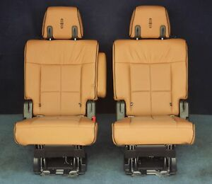 2010 2011 2012 2013 2014 Navigator 2nd Row Center Seat In Tan Leather