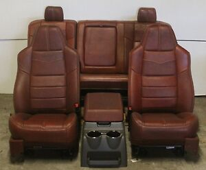 2008 2010 Ford King Ranch Front Rear Seat Leather