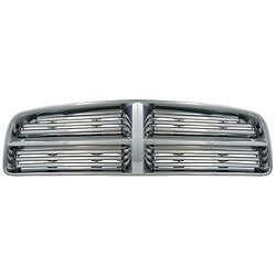 Cci Chrome Grille Insert overlay 2006 2010 Dodge Charger