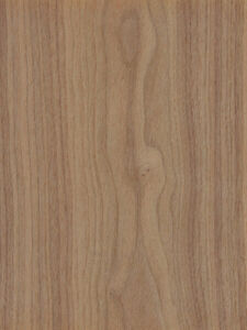 Walnut Wood Veneer Plain Sliced 10 Mil Paper Backer 2 X 8 24 X 96 Sheet