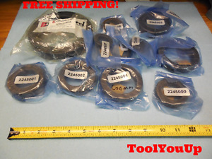 Lot Of 10 New Shaft Collar Clamps Many Sizes Machine Shop Tooling Machinist Tool