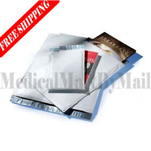 9000 0 Poly Bubble Mailers Envelopes 6 5x10 White Free Shipping