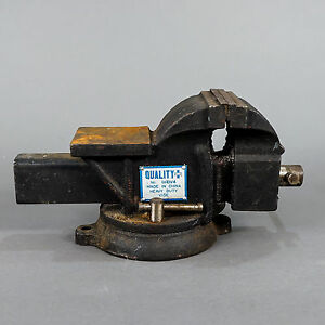 Quality Plus 4 Heavy Duty Rotating Swivel Bench Vise