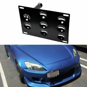 Jdm Bumper Tow Hook License Plate Mounting Bracket Fit Honda S2000 Fit Acura Tl