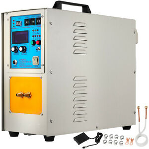 15kw High Frequency Induction Heater Furnace 110v 2 L Min 30 100 Khz