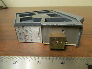 Hp Agilent 11602a Transistor Test Fixture For Parts Or Repair