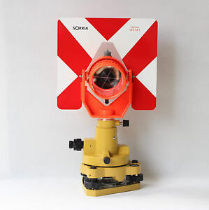 New Sokkia Type Single Prism Tribrach Set System For Total Station Surveying