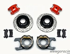 1964 1986 Chevrolet C10 Wilwood D154 Rear Parking Brake Kit C1500 12 19 Rotors