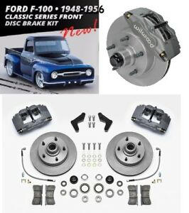 Wilwood Classic Front Disc Brake Kit Ford F100 1948 1956 And f Series