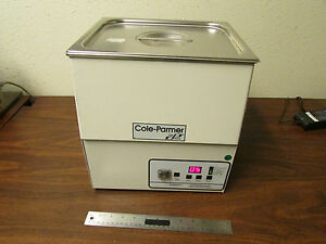 Cole parmer 8895 52 Ultrasonic Cleaner With Heat Timer Degas Settings