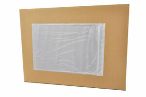 Clear Packing List 10 X 12 Plain Face Envelopes Back Side Load 1000 Pieces
