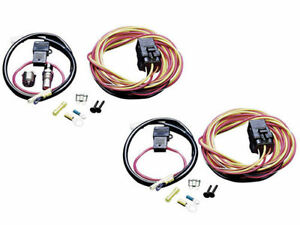 Spal Dual Electric Fan Wiring Relay Harness Kit 185fh Frh 185 Degree Thermostat