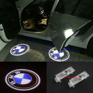For Bmw 3 5 7 Series X3 X5 X6 Ghost Led Door Step Courtesy Shadow Laser Lights