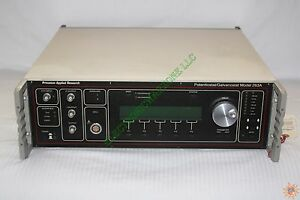 Princeton Applied Research Potentiostat Galvanostat 263a Model 263a 2 Rev K
