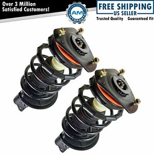 Front Quick Loaded Complete Strut Spring Assembly Lh Rh Pair Set 2pc New