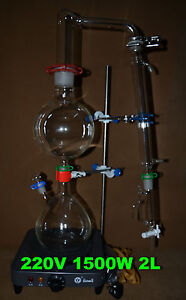 Essential Oil Steam Distillation Apparatus filling Entrance 40 38 220v
