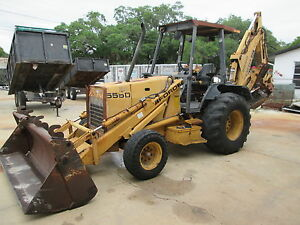 Ford 555d Loader Backhoe 4 In 1 Front Bucket Extend a hoe With Ajusta buckets