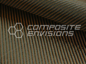 Bronze Mirage Carbon Fiber Fabric 2x2 Twill 50 3k 8 6oz Hd Remnant Roll 363