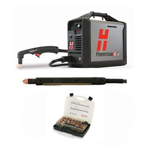 Hypertherm Powermax45 Xp Plasma W cpc 25ft Mech And Hand Torches 088123