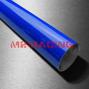 39 x180 Fluorescent Blue Vinyl Self Adhesive Decal Plotter Sign Sticker Film