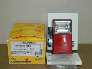 New Gentex Wges24 75wr Weatherproof Fire Alarm Strobe 75cd 904 1218 002