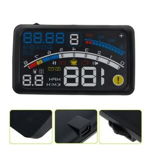 Ash 4e 5 5 Universal Obd2 Car Gps Hud Head Up Display Overspeed Warning System