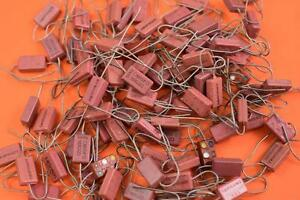 Cm15fd161g03 Mica Dielectric Fixed Capacitor 160pf 500v lot Of 90