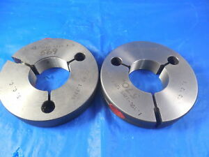 1 356 32 Ns Special Thread Ring Gages Go No Go P d s 1 3346 1 3281 Tool