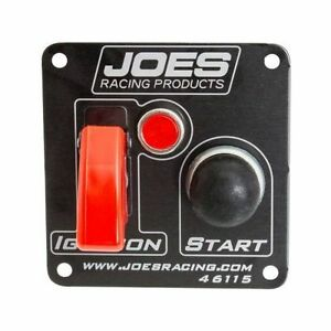 Joes Racing Products 46115 Switch Panel Ignition Start Button With Lights