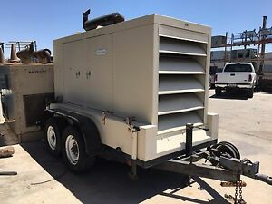 Generac 50 Kva 120 240 V Single Phase Portable Generator With Hydraulic Brakes