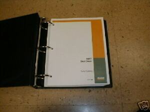 Case 40xt Skid Steer Loader Parts Manual Book New