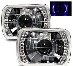 1985 2005 Gmc Safari 7x6 H6014 H6052 H6054 Chrome Crystal Square Projector He