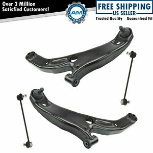 Front Lower Control Arm Ball Joint Sway Bar End Link Suspension Kit Set 4pc New