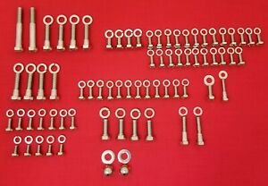 Chevy 216 Straight 6 Cylinder Stainless Steel Engine Hex Bolt Kit Set