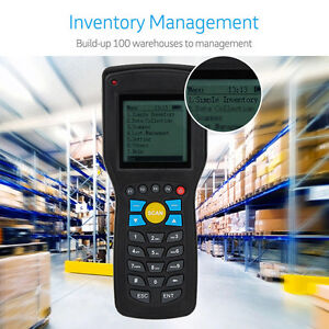 Data Inventory Management 433mhz Wireless Laser 1d Ean13 Upca e Barcode Scanner