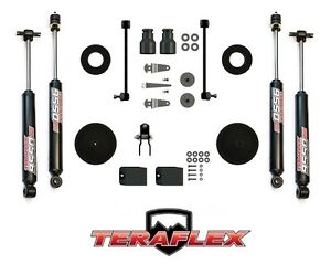 Teraflex 2 5 Budget Boost Lift Kit W 9550 Shocks For 07 18 Jeep Wrangler Jk