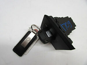 2011 Bmw 328xi Smart Key Ignition Switch Black Oem 07 08 09 10 11 12 13 14