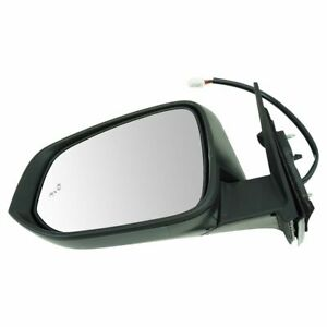 Exterior Power Heated Mirror With Blind Spot Detection Turn Signal Lh For Suv