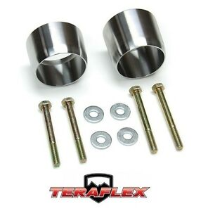 Teraflex Exhaust Loop Spacer Kit For 2007 2018 Jeep Wrangler Jk Jku 2610000