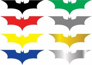 2x Batman Dark Knight Decal Car Window Comic Marvel Dc Sticker Set Of 2 Decals