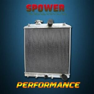 3 Row Aluminum Radiator For Honda Civic Cx Ex R Gx Acura El 92 00 28mm In Outlet