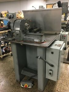 Hardinge No Hsl Speed Lathe