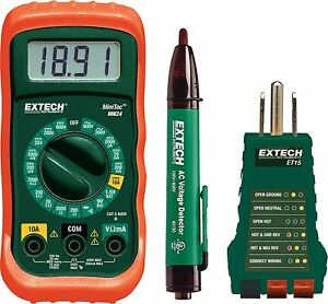 Extech Mn24 kit Electrical Test Kit