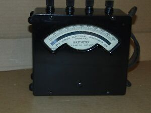 Hickok Wattmeter Model 13