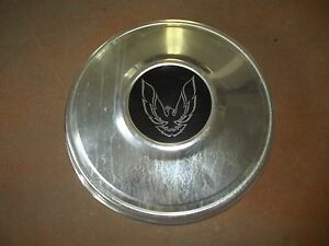 Pontiac Firebird Wheel Cover Hubcap Center Hub Cap Poverty Dog Dish Oe Used 80 s