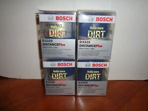Lot Of 4 Bosch D3325 Distance Plus High Performance Oil Filter free Shipping