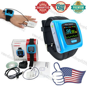 Contec Oled Spo2 Pr 24h Sleep Monitor wrist Pulse Oximeter finger Probe software