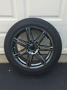 Set Of 4 Niche 20 Inch Wheels With Falcon 255 50r20 Tires