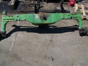 John Deere 2840 Front Axle Assembly Ar53388 Also Fits 3120 3030 3130 3135